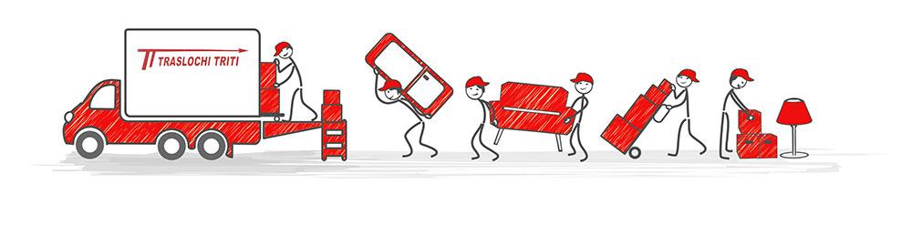 deposito custodia mobili - magazzino mobili
